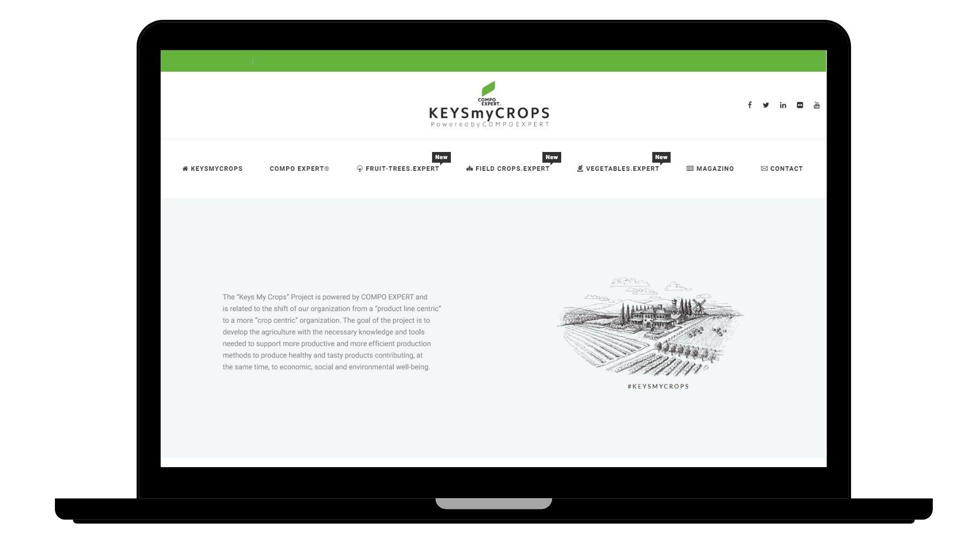 WEBSITE – KEYSMYCROPS
