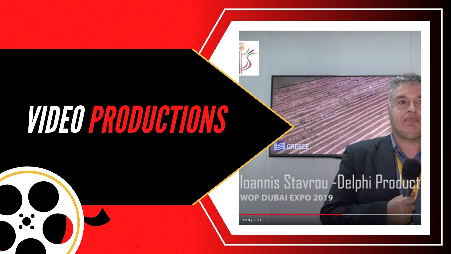 WOP DUBAI EXPO 2019 – DELPHI PRODUCTS